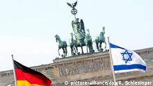 Symbolbild deutsch-israelische Beziehungen