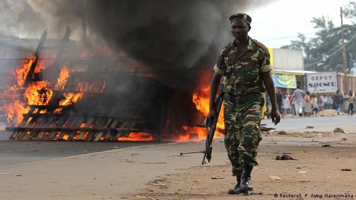 Burundi Proteste in Bujumbura