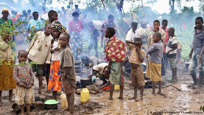 Ruanda Flüchtlinge aus Burundi