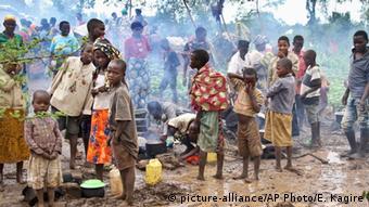 Ruanda Flüchtlinge aus Burundi (Foto: (AP Photo/Edmund Kagire)