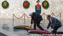 Russland Wolgograd Außenminister Frank-Walter Steinmeier und Sergej Lawrow