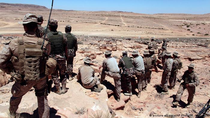 Jordanien US-Monitoring von Militärmanövern