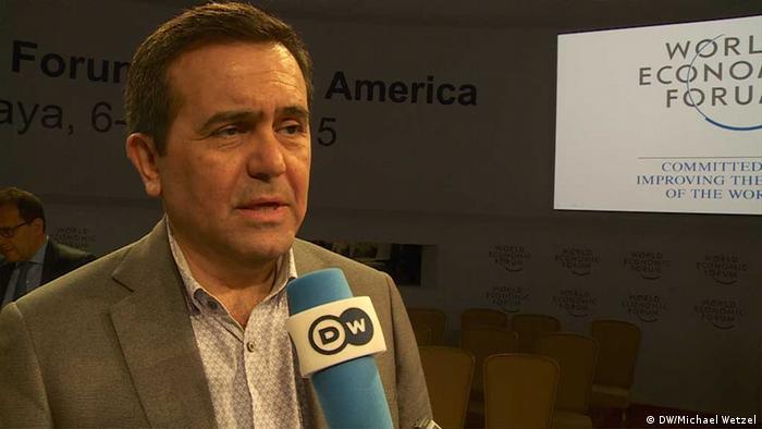 Ildefonso Guajardo Villareal, Wirtschaftsminister Mexikos (DW/Michael Wetzel)
