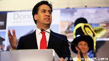 Großbritannien Wahl zum Unterhaus Ergebnis Labour Ed Miliband