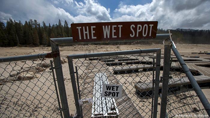 USA Wetter Klima Dürre in Kalifornien Huntington Lake