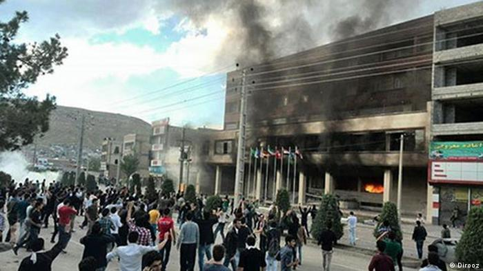 Iran Proteste in Mahabad