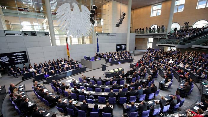 Bundestag Gedenkstunde zum Ende des Zweiten Weltkriegs (picture-alliance/dpa/W. Kumm)