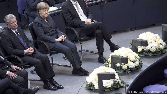 Comemorare în Bundestag