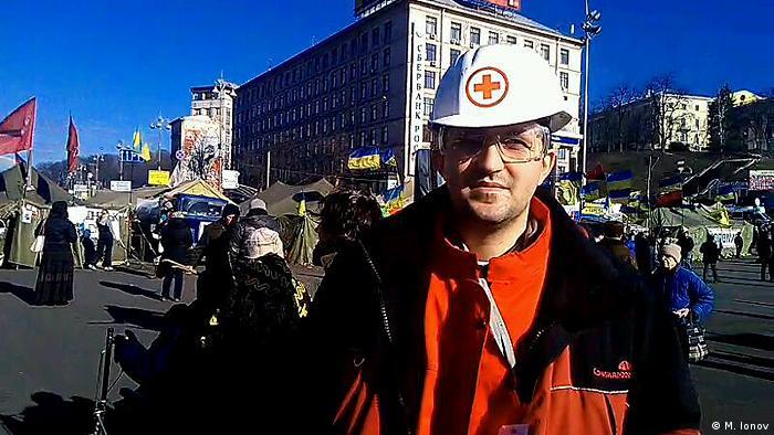Координатор медичної служби Євромайдану Максим Іонов