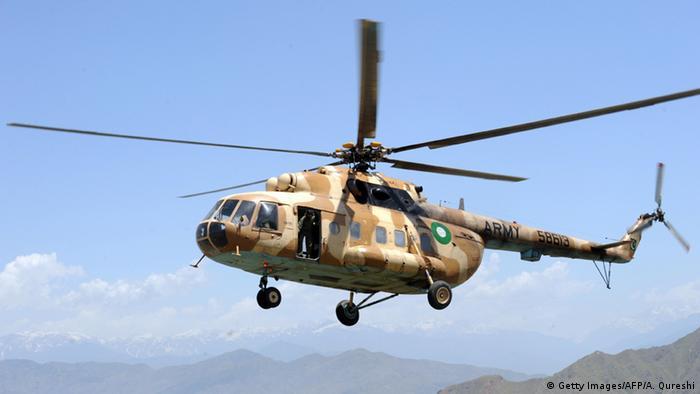Pakistan MI-17 Hubschrauber