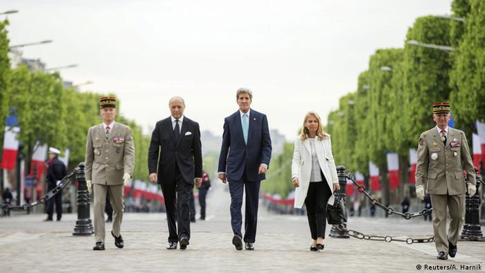 Kerry and Fabius