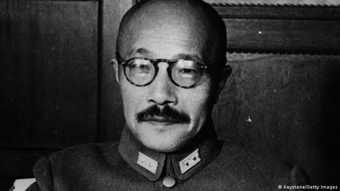Kriegsverbrecher der Klasse A Japan Hideki Tojo