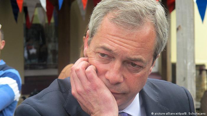 Großbritannien Wahl zum Unterhaus UKIP Nigel Farage