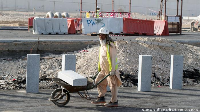 Baustellen in Katar (Foto: dpa)