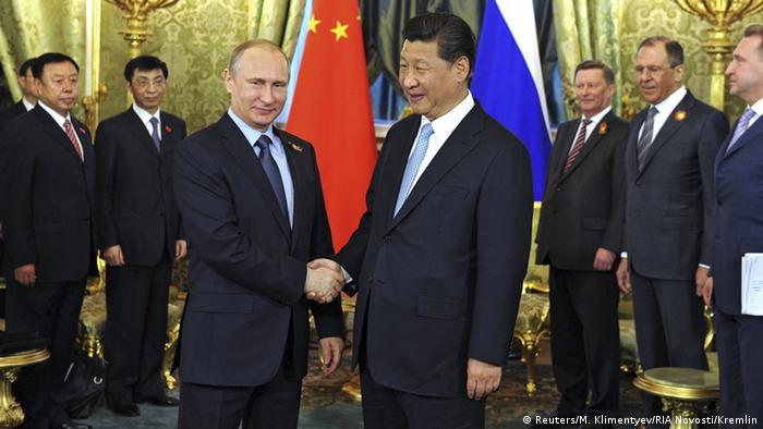 Xi Jinping visits Vladimir Putin in Moscow