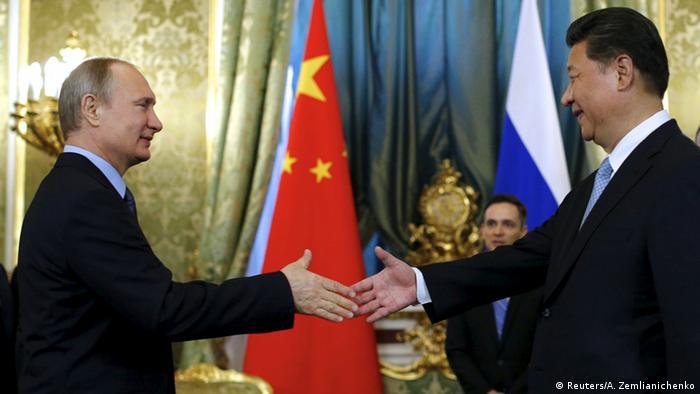 Russland Besuch Xi Jinping bei Wladimir Putin