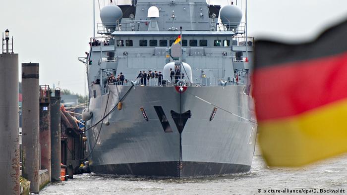 Deutschland Fregatte Hessen