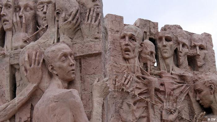 Weißrussland ehemaliges Vernichtungslager Maly Trostinez Gedenkstätte (DW)