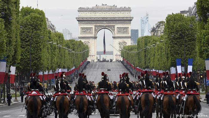 Frankreich Gedenken 70 Jahre Ende des Zweiten Weltkriegs
