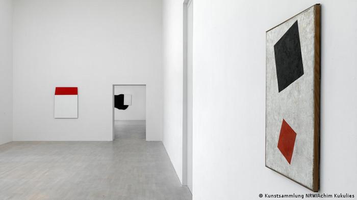 Поддельный Малевич на выставке в Дюссельдорфе