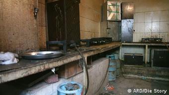Кухня в бараке