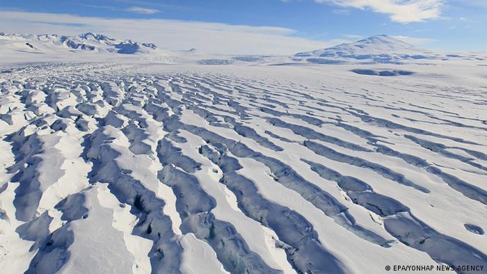 Eismassen in der Antarktis (Foto: EPA).