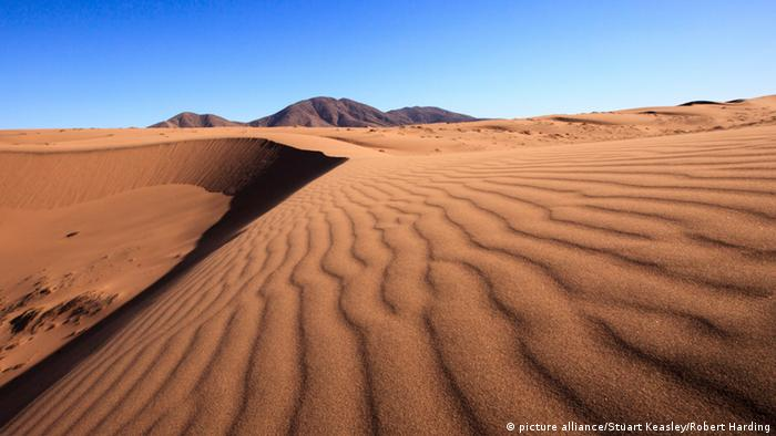 Dune patterns in the Atacama Desert, Chile, South America