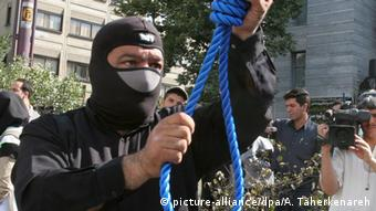 Iran Vorbereitung öffentlicher Hinrichtung