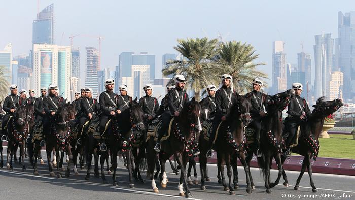 Katar Polizeikräfte (Foto: getty)