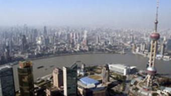 China Wirtschaft Shanghai Skyline