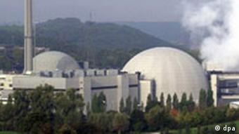 Neckarwestheim nuclear power plant