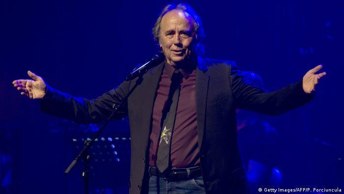 Uruguay spanischer Sänger Joan Manuel Serrat