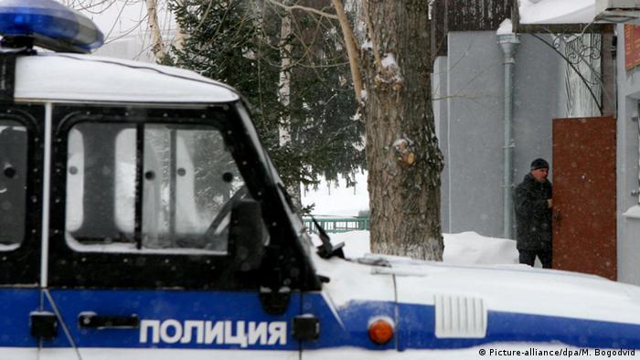 Полицейская машина в России