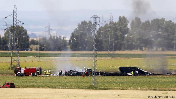 Розбитий літак A400M поблизу Севільї, 9 травня
