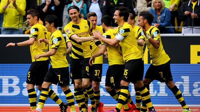 Bundesliga Dortmund gegen Berlin