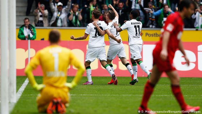 Bundesliga Gladbach gegen Leverkusen