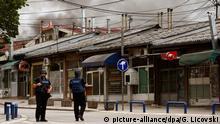 Mazedonien Polizisten bei Schießerei verletzt