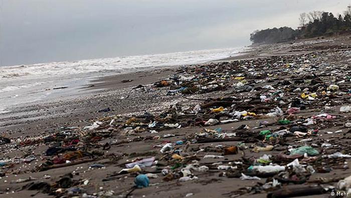 Iran Bildergalerie Nordküste Umweltverschmutzung (Mehr)
