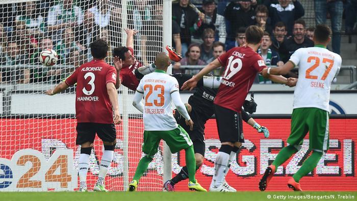 Fußball Bundesliga Hannover 96 vs. SV Werder Bremen