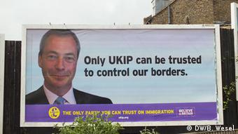 UKIP Nigel Farage billboard