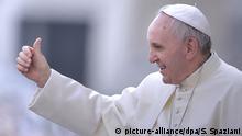 Italien Vatikan Papst Franziskus