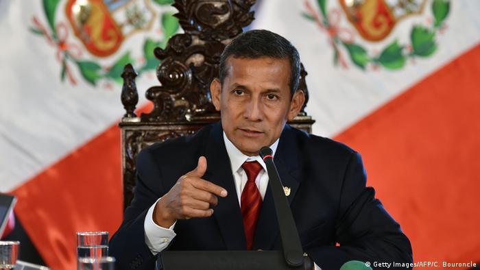 Peru Lima Präsident Ollanta Humala Spionagevorfall Chile