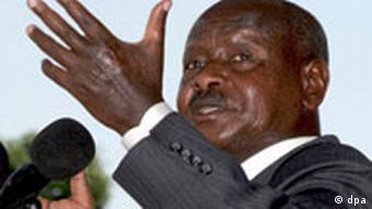 Uganda - Präsident Yoweri Museveni