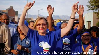 Amtsvorgängerin Helen Zille Foto: AP Photo/Schalk van Zuydam