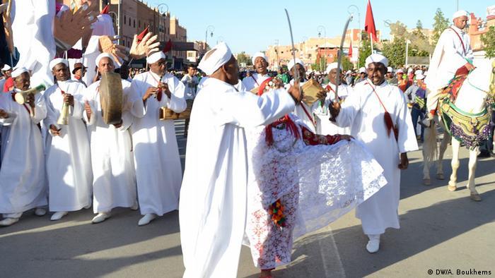 Marokko Blumenfestival in Kalat Maguna