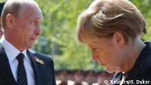 Symbolbild Beziehung Deutschland Russland
