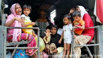Rohingya flüchten nach Indonesien