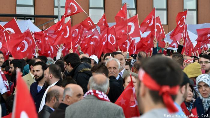 Deutschland Türkei Recep Erdogan in Karlsruhe
