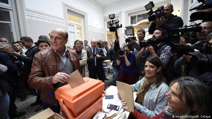 Bürgermeisterwahl in Montevideo Daniel Martinez