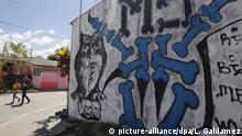 Symbolbild Graffiti Mara Salvatrucha